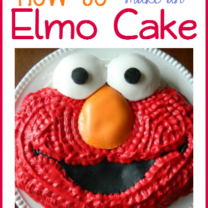 Happy 2nd Birthday! Elmo Cake