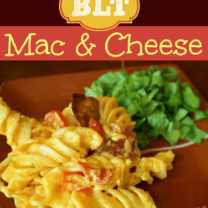 BLT Mac 'n' Cheese