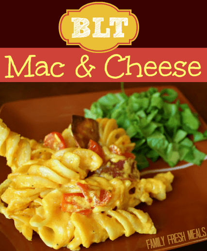 BLT Mac and Cheese - FamilyFreshMeals.com