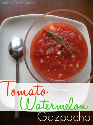 Tomato Watermelon Gazpacho