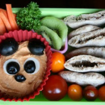 Bento Love: Bearful Hummus