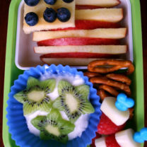 Bento Love: Stars & Stripes 4th of July Lunchbox