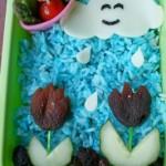 Bento Love: Showers & Peeled Flowers