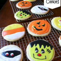 Soft Sugar Cookie Recipe: Halloween Style