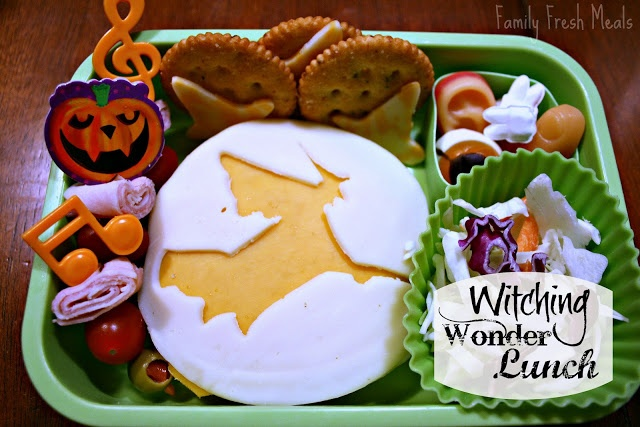 top down picture of of Witch Wonder Lunchbox