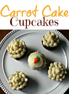 Homemade Carrot Cake Cupcakes - FamilyFreshMeals.com