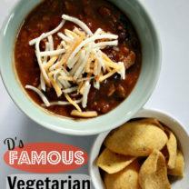 Darryl's Famous Vegetarian Chili