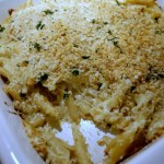 Four Cheese Baked Pasta