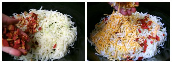 Crockpot Breakfast Casserole - Steps -