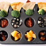 Muffin Meals: Quesadilla Dipping Station