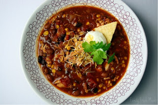 Crockpot Chicken Taco Soup  - Family Fresh Meals