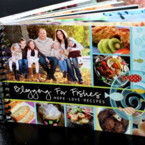 Blogging for Fishes Cookbook…Featuring Family Fresh Meals!
