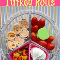 Bento Love: Turkey Rolls & Tomatoes