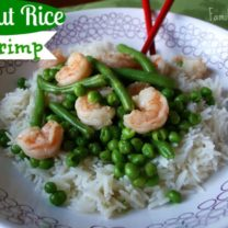Coconut Basmati Rice Shrimp