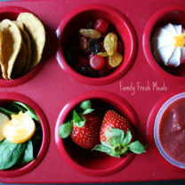 Muffin Meals: Shades of Red