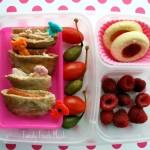 Bento Love: Pita Minis & Caper Berries