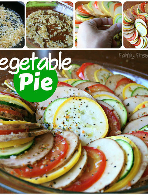 Easy Vegetable Pie - Family Fresh Meals