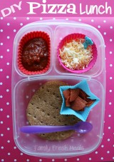 Bento Love: Make Your Own Pizza Lunchable