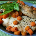 Lemon Basil Slow Cooker Chicken