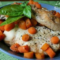 Lemon Basil Slow Cooker Chicken