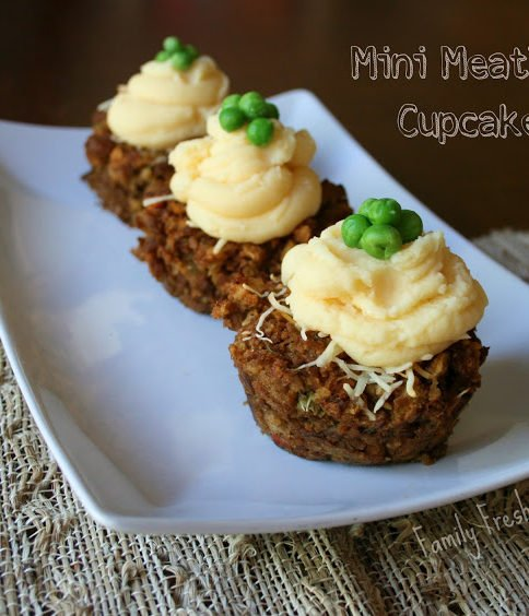 A fun way to eat meatloaf