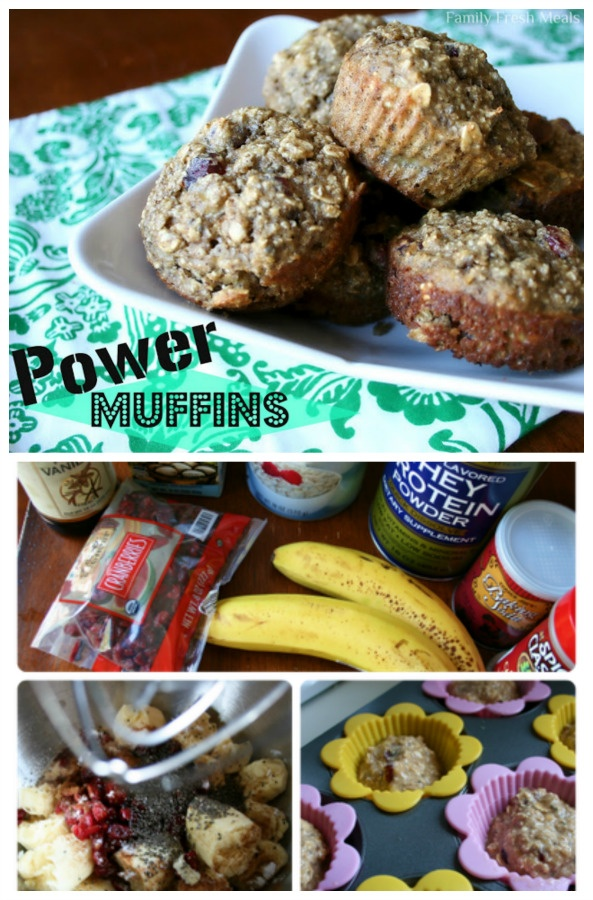 Irene's Power Muffins via @familyfresh
