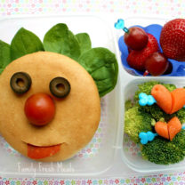 Funny Face Bento Tutorial
