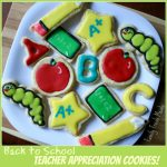 Back to School THANK YOU Cookies!