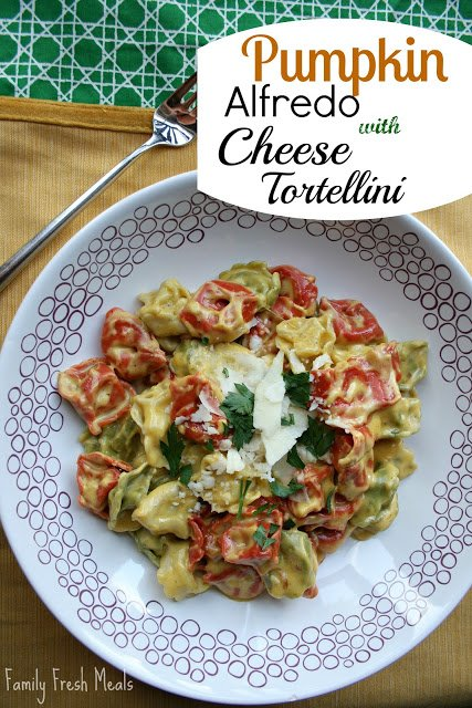 A fun twist on alfredo sauce.
