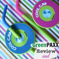 GreenPAXX Reusable Cool Straws & Caps GIVEAWAY!