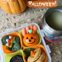 Quick and Easy Halloween School Lunch