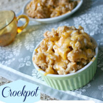 Crockpot Macaroni and Cheese
