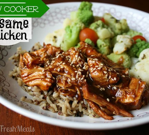 30 Easy Crockpot Recipes Slow Cooker Sesame Chicken