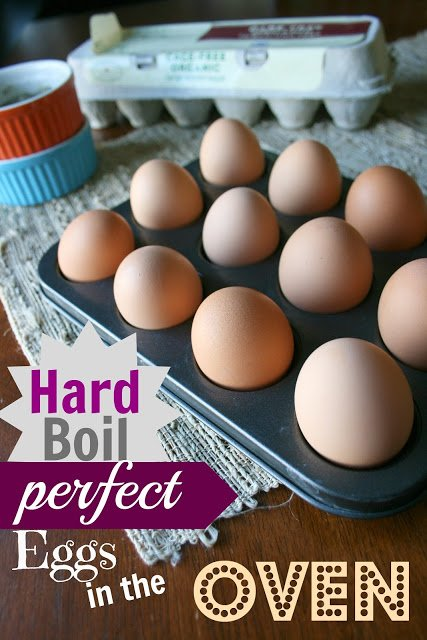 how to hard boil perfect eggs in the oven