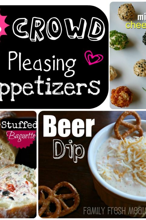 15 Crowd pleasing appetizers