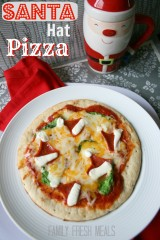 How To Make a Santa Hat Pizza
