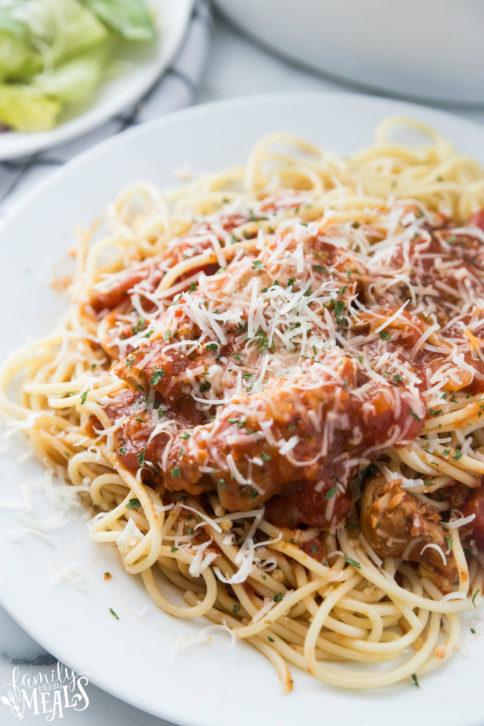 Crockpot Chicken Cacciatore Recipe - Family Fresh Meals easy recipe