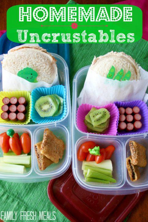 Homemade Uncrustables for Lunch - FamilyFreshMeals.com