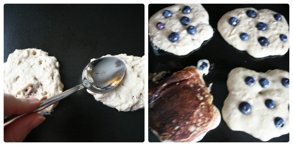 How to make Greek Yogurt Pancakes