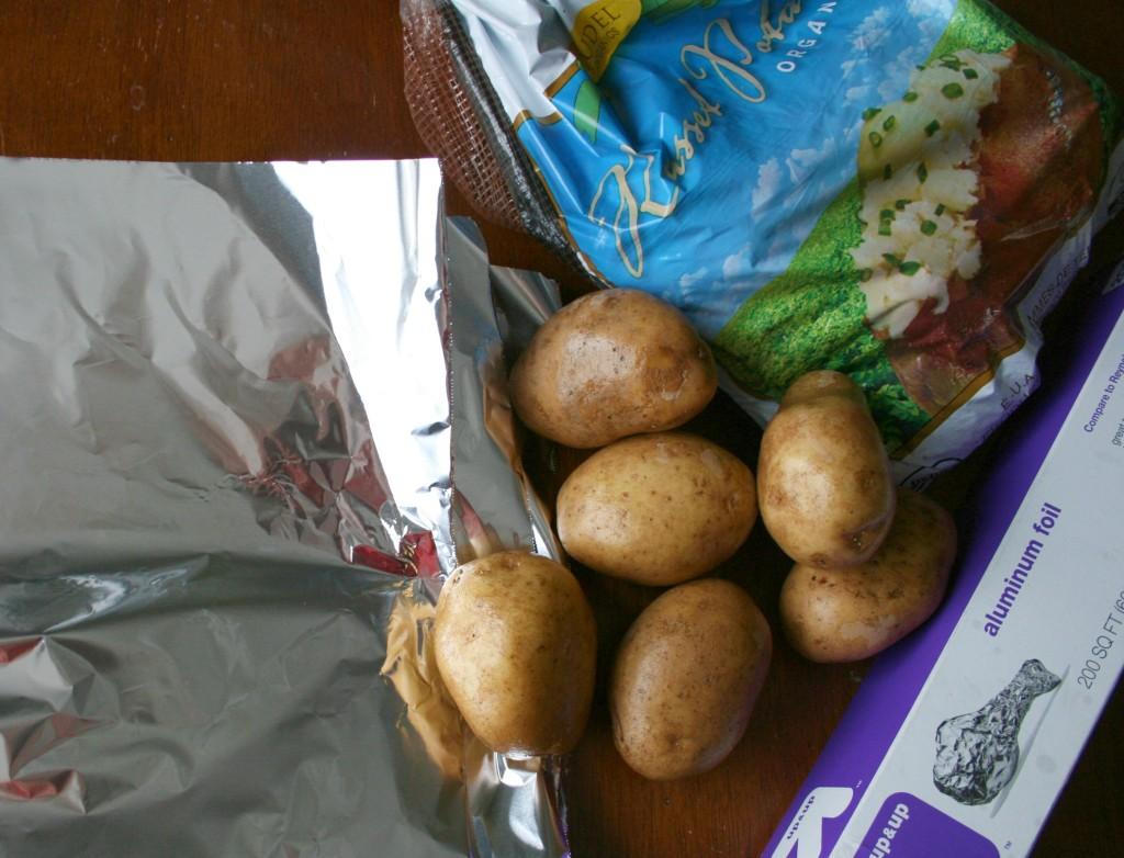 crockpot baked potatoes ingredients