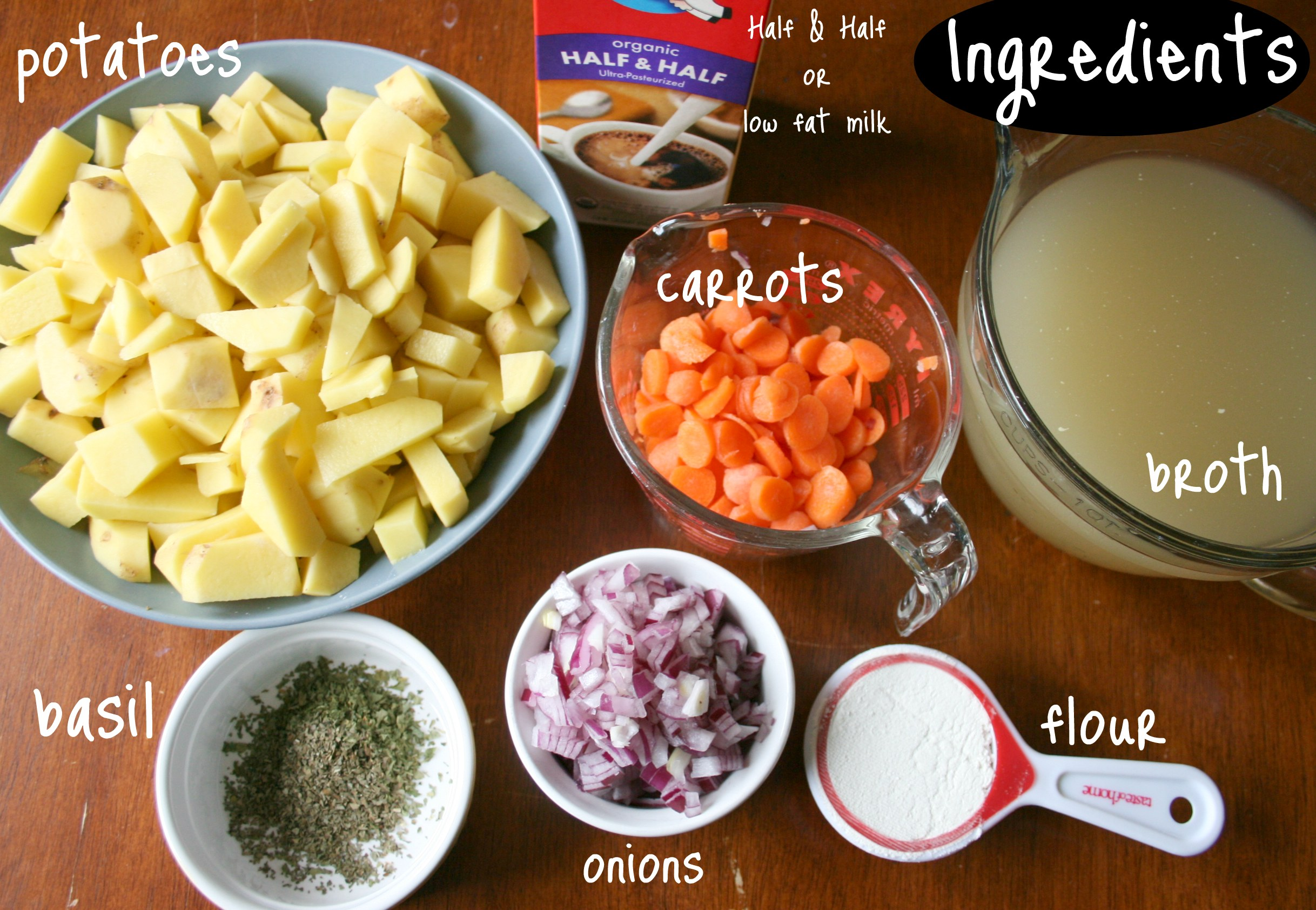 Crockpot potato soup family fresh meals for Healthy vegetarian crock pot recipes easy