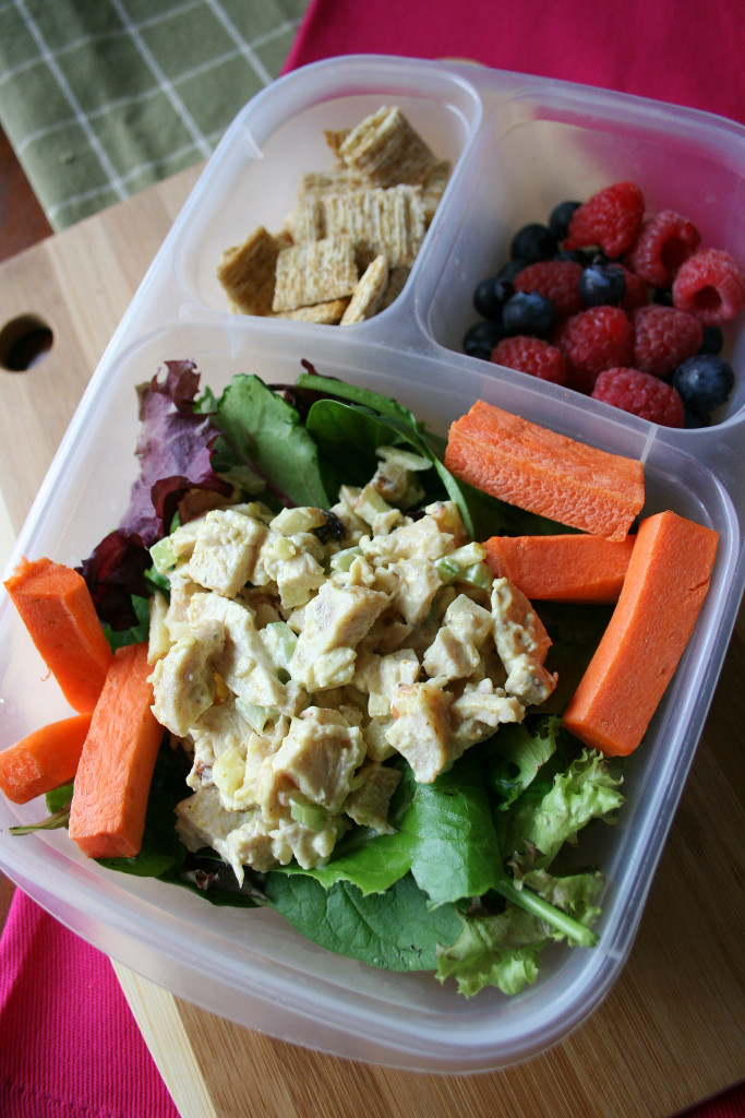 Curried chicken salad for lunch family fresh meals for Salas lunchs