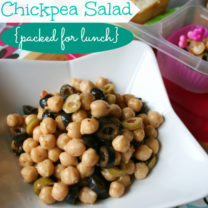 Easy Chickpea Salad Recipe