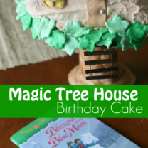 Magic Tree House Birthday Cake