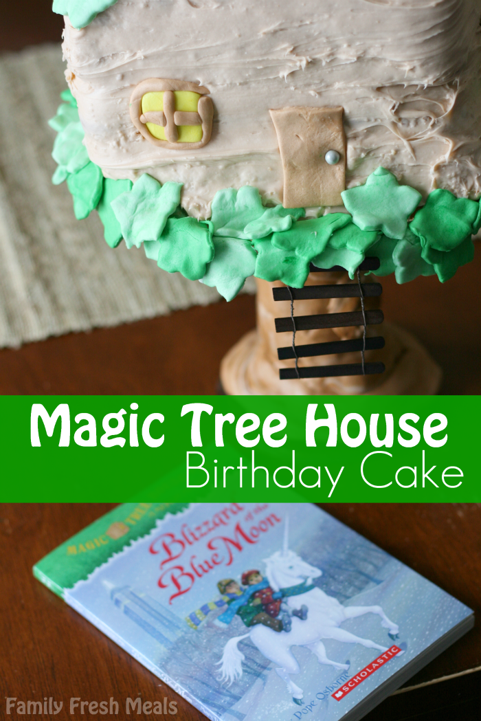 Magic Tree House Birthday Cake - FamilyFreshMeals.com