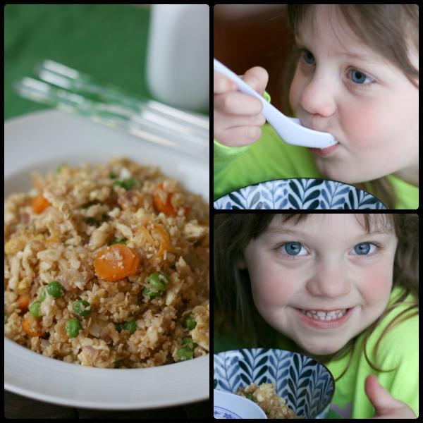 Cauliflower Fried Rice - FamilyFreshMeals