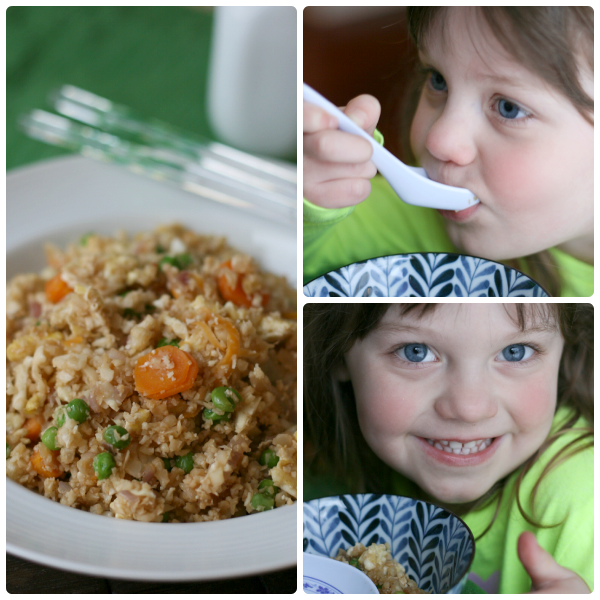 Cauliflower Fried Rice - FamilyFreshMeals
