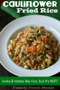 Cauliflower Fried Rice - Family Fresh Meals