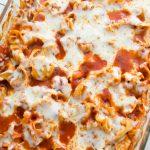 Easy Cheesy Tortellini Pasta Bake