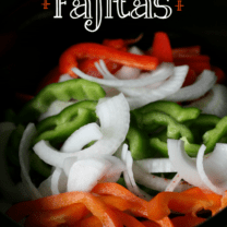 Easy Crockpot Fajitas